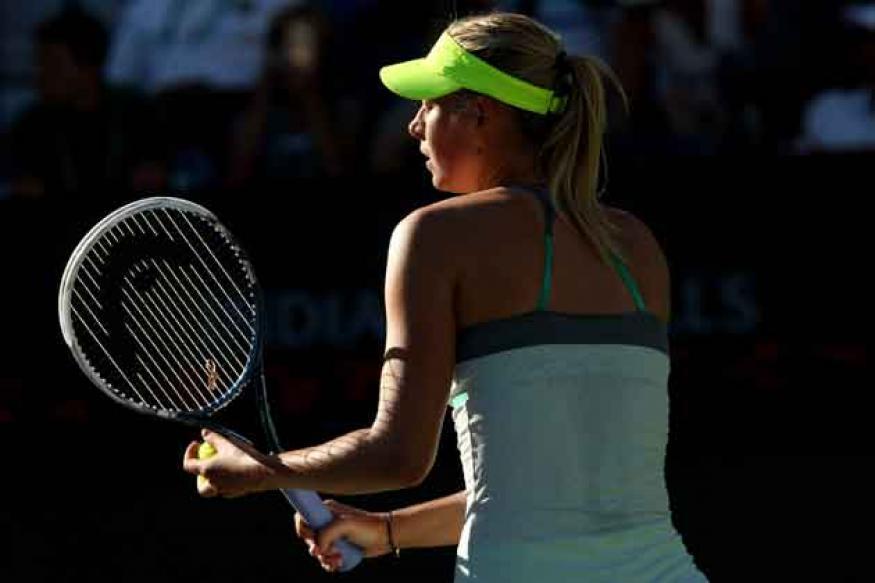 Maria Sharapova, Sara Errani advance at Indian Wells