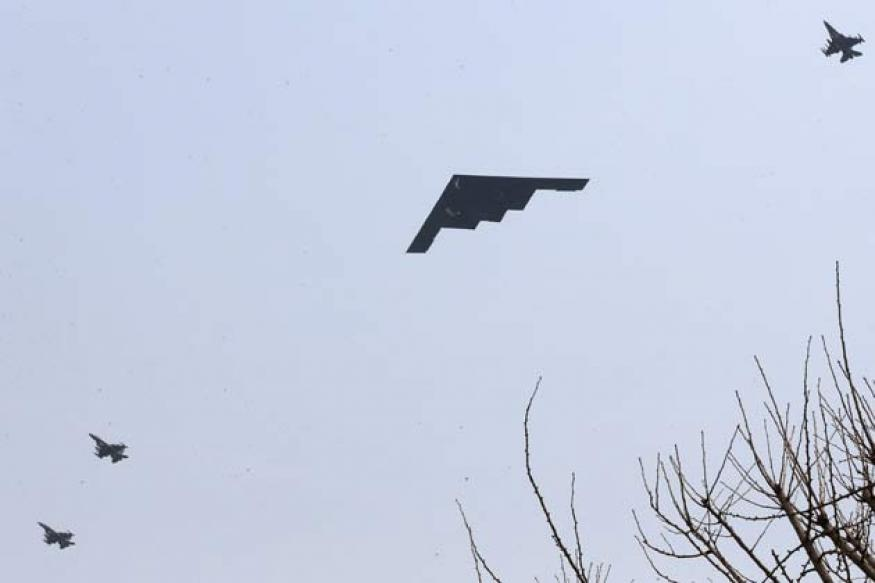 USA's B-2 bombers complete training sorties in S Korea