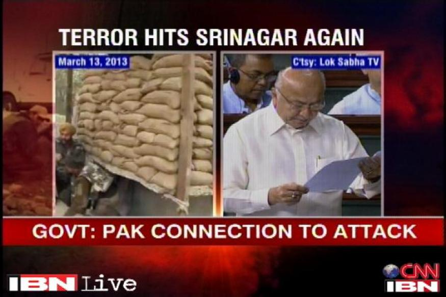Shinde reads out part of his statement on J&K twice