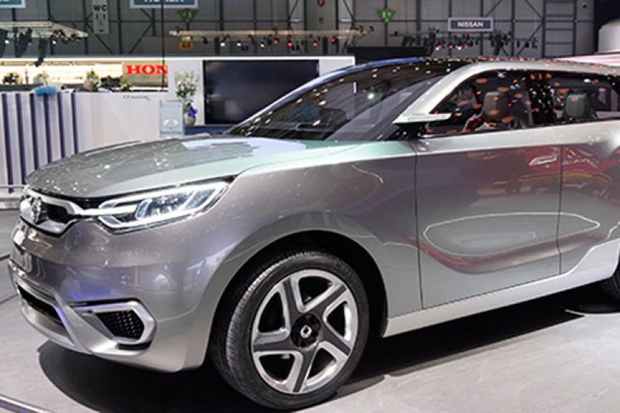 2013 Geneva Auto Show: SsangYong SIV-1 Concept