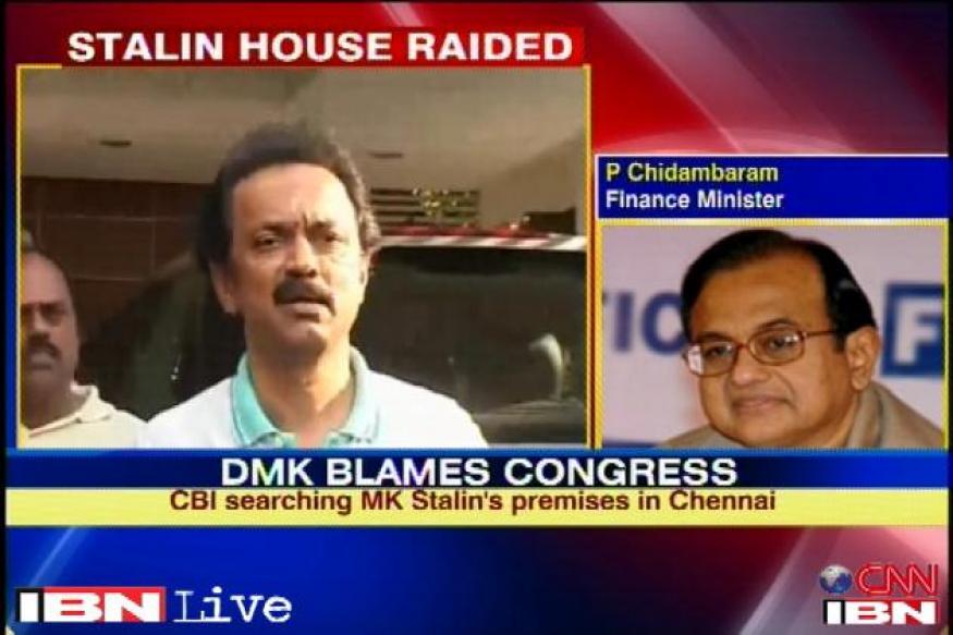 CBI raids at Stalin's house stopped after uproar
