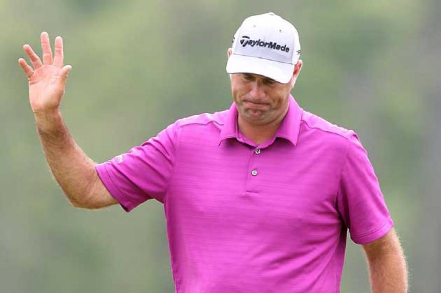 Cink and Haas tied for lead after Houston Open round three
