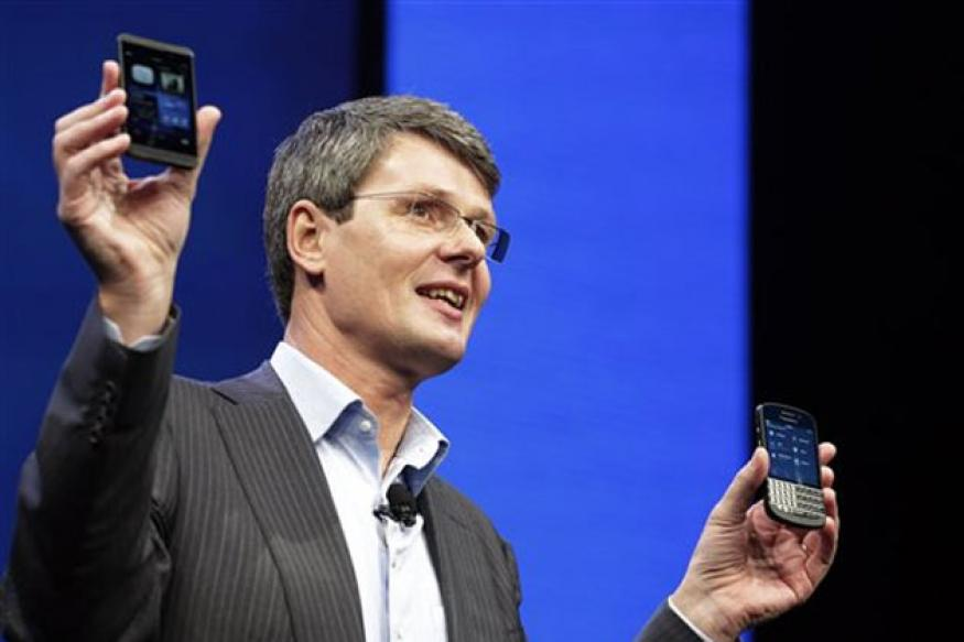 Apple iPhone is outdated, says BlackBerry CEO Thorsten Heins