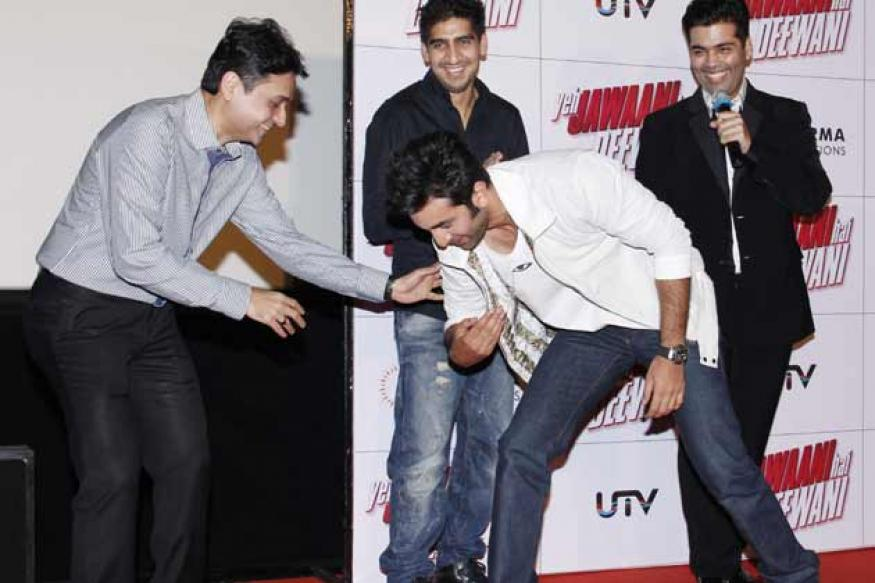 Ranbir Kapoor touching everyone's feet sparks debate