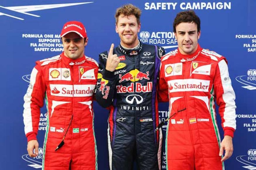 Sebastian Vettel grabs pole position for Malaysian Grand Prix 2013