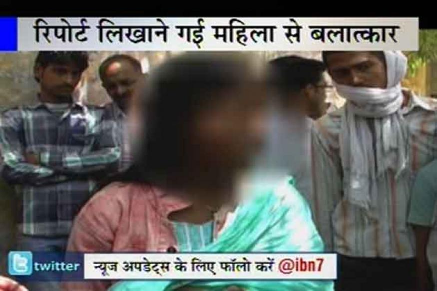 UP: Policeman threatens and rapes a woman