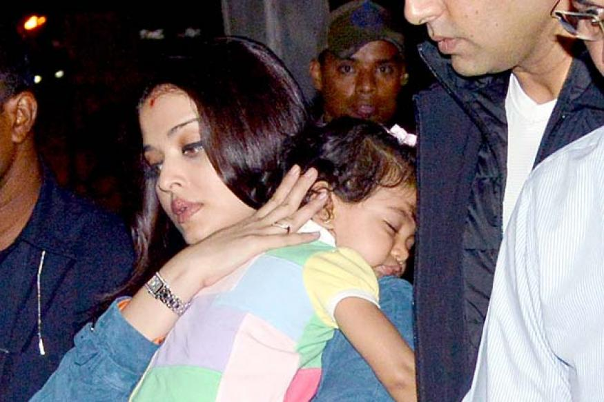 Snapshot: New photos of 16-month-old Aaradhya Bachchan