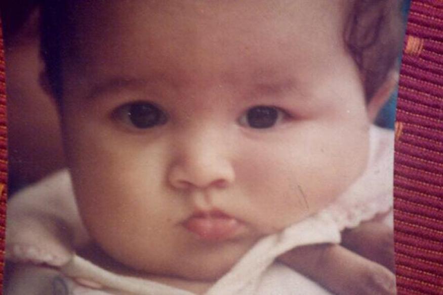 Snapshot: Good god! Is that chubby baby...Alia Bhatt?