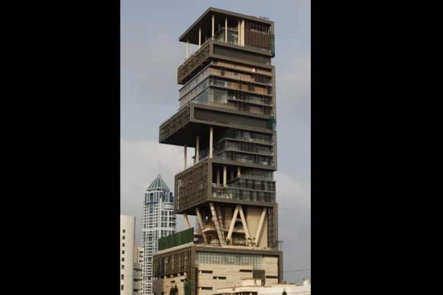 Mumbai: Police chowki at Mukesh Ambani's Antilia?