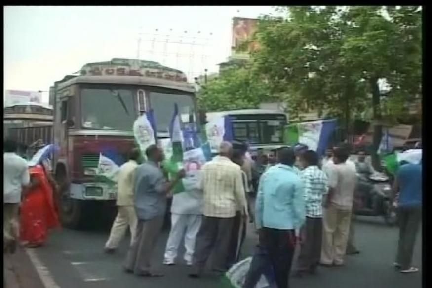 AP shuts down as Opposition protests against power tariff