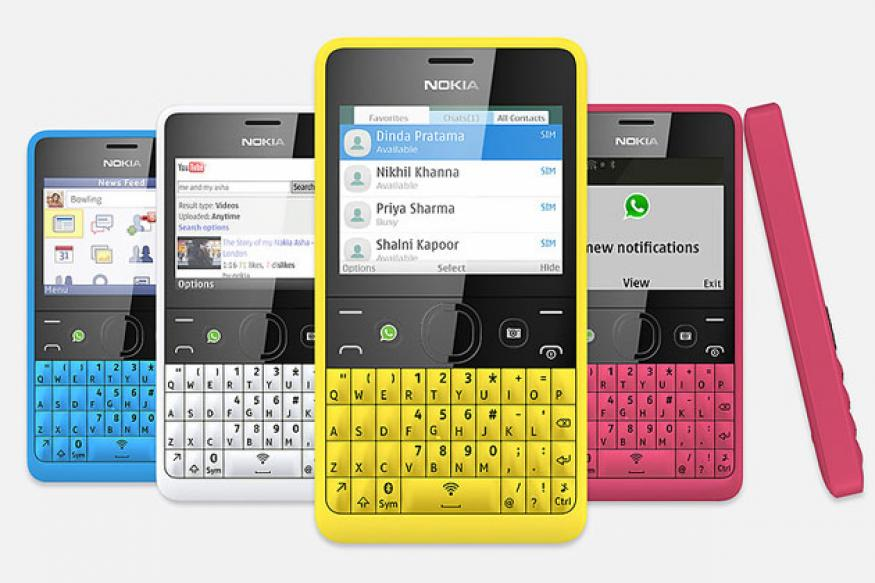 Nokia launches low-cost 'WhatsApp phone' Asha 210