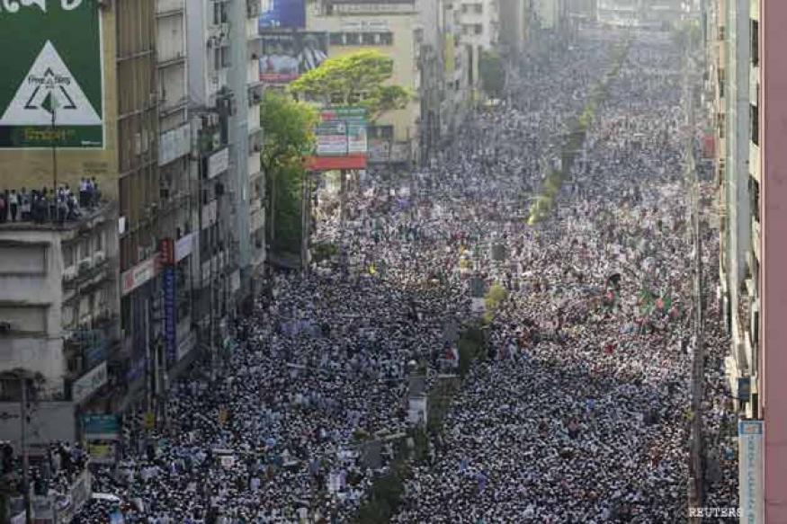 Bangladeshi Islamists rally against 'atheist' bloggers