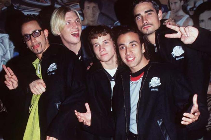 Snapshot: 'The Backstreet Boys' - then and now
