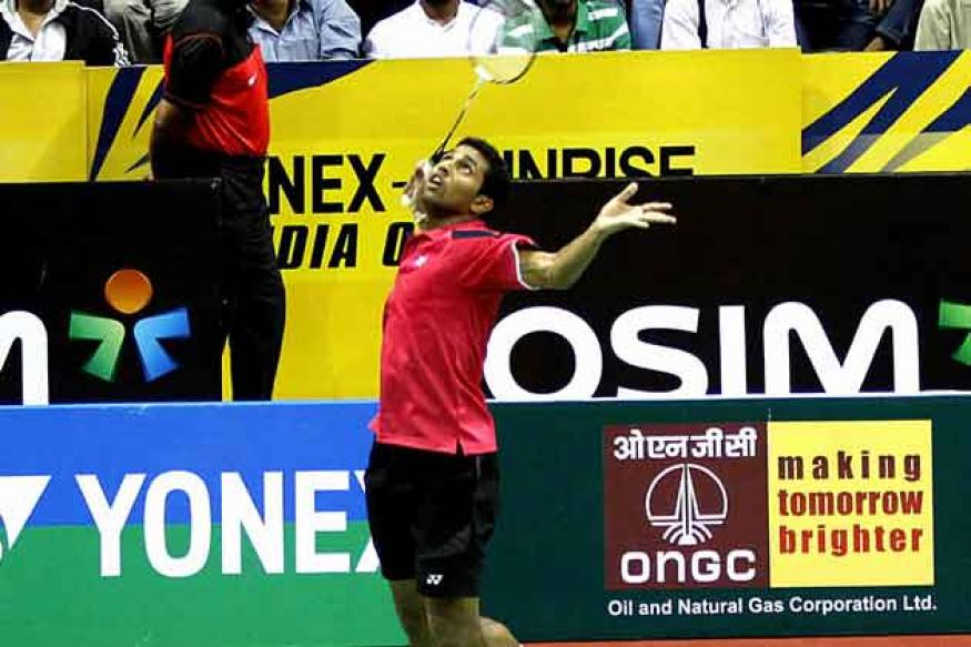 Prannoy goes down fighting to top seed Lee at India Open