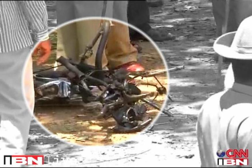 B'lore blast: Registered owner of bike used for attack traced