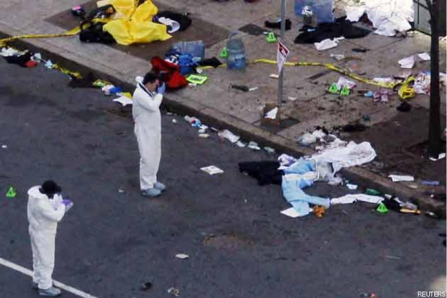 Arrest made in Boston twin blasts case: Sources