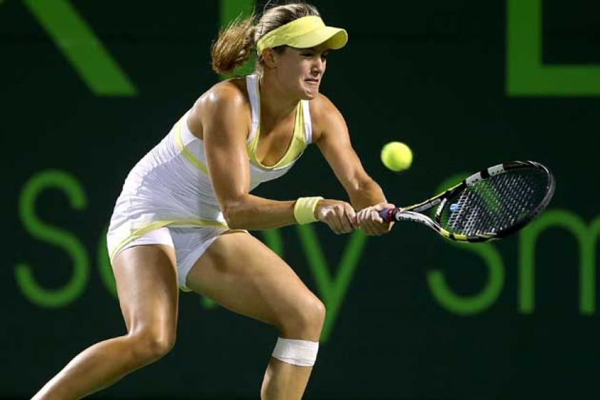 Eugenie Bouchard reaches quarters after Sam Stosur withdraws
