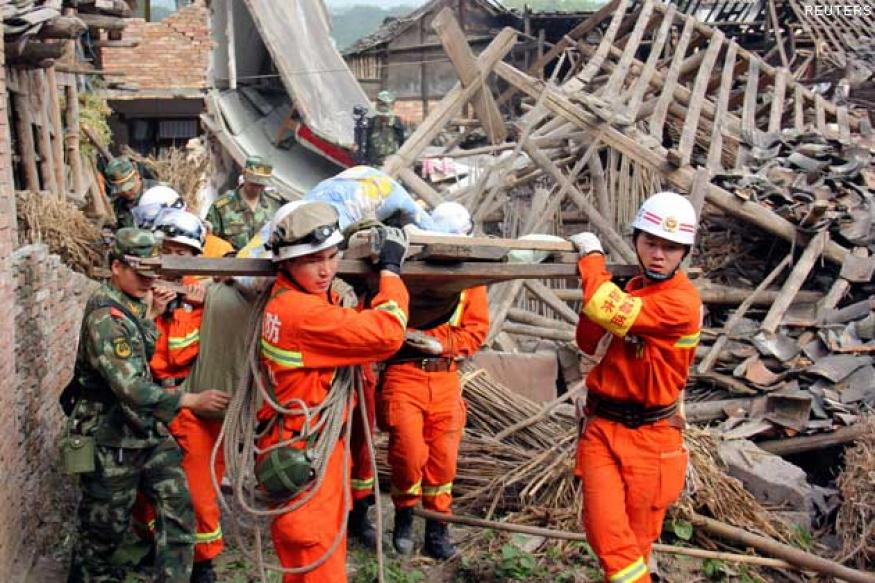 China quake: Death toll rises to 195, over 10,000 injured