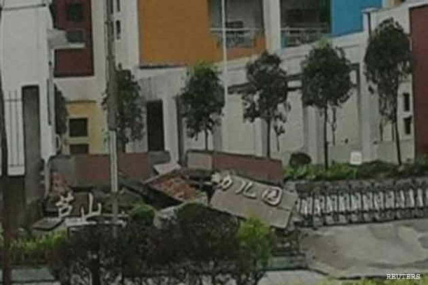 6.6 magnitude earthquake hits China; 56 dead, 600 injured