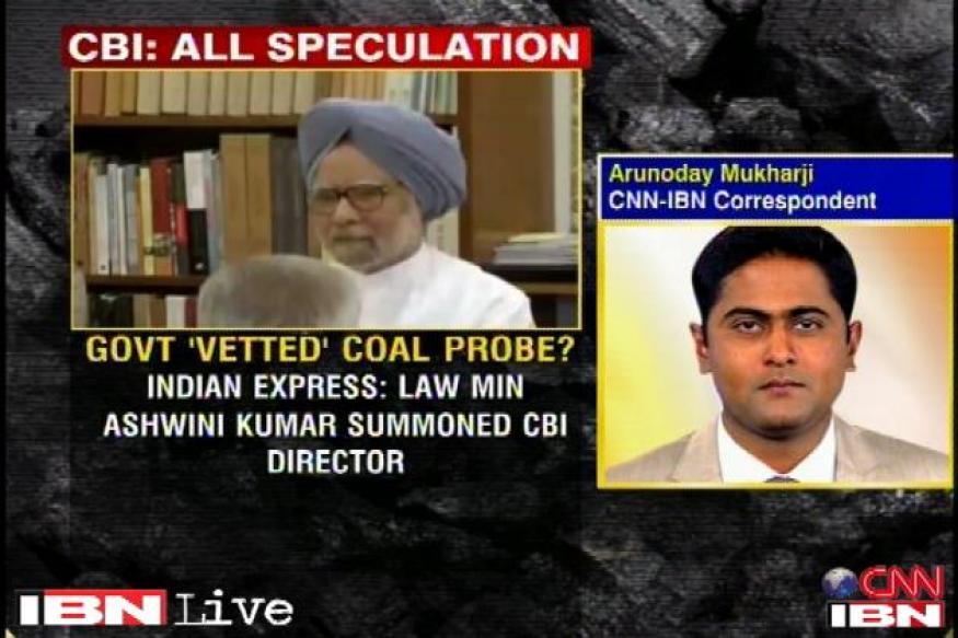 CBI coal scam report: Law minister meets top officials