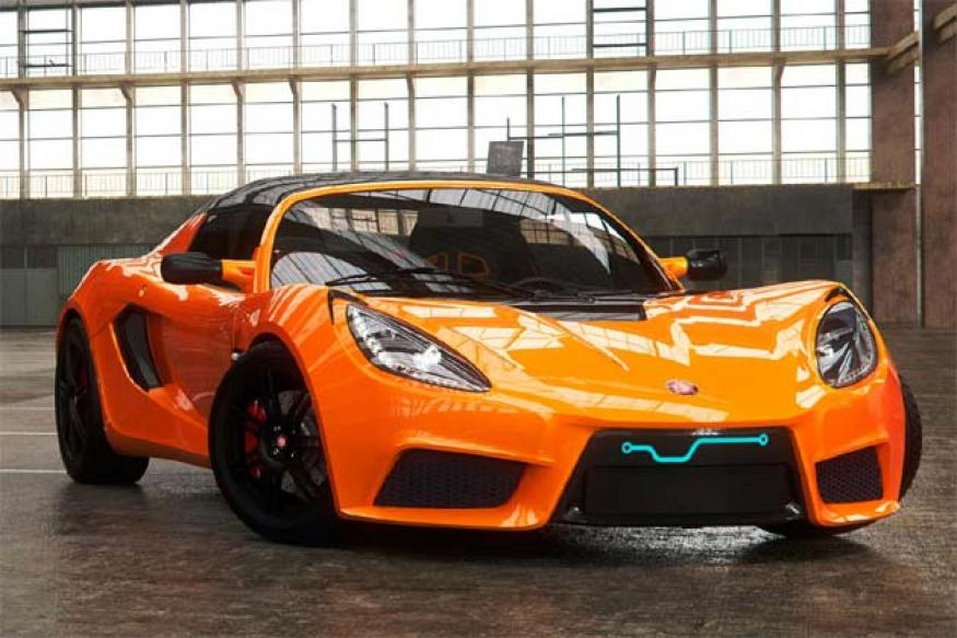 Detroit Electric unveils $135,000 battery-powered sports car
