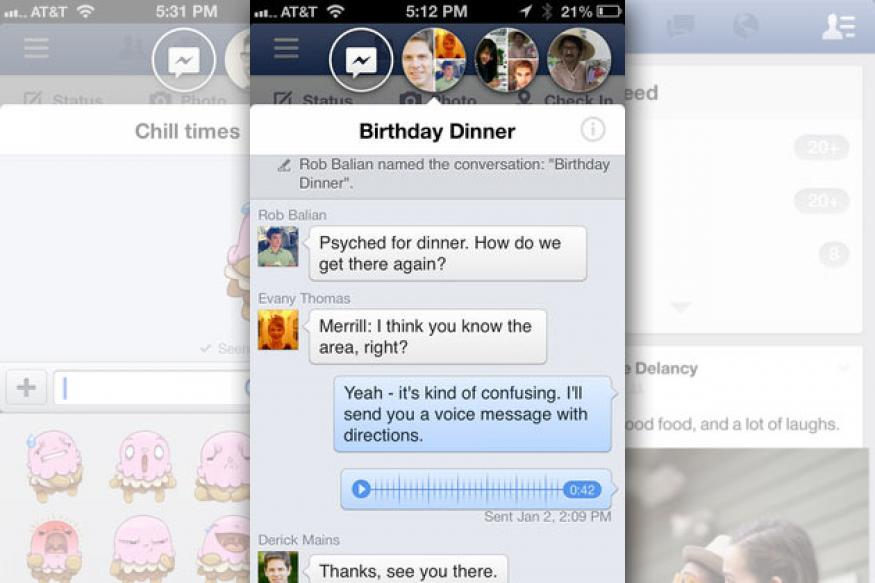 Facebook updates Apple iPhone, iPad app to add 'chat heads'