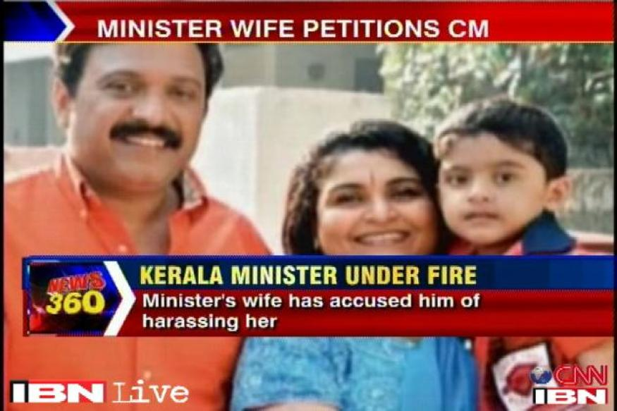 Kerala minister's wife alleges domestic violence, govt in a spot