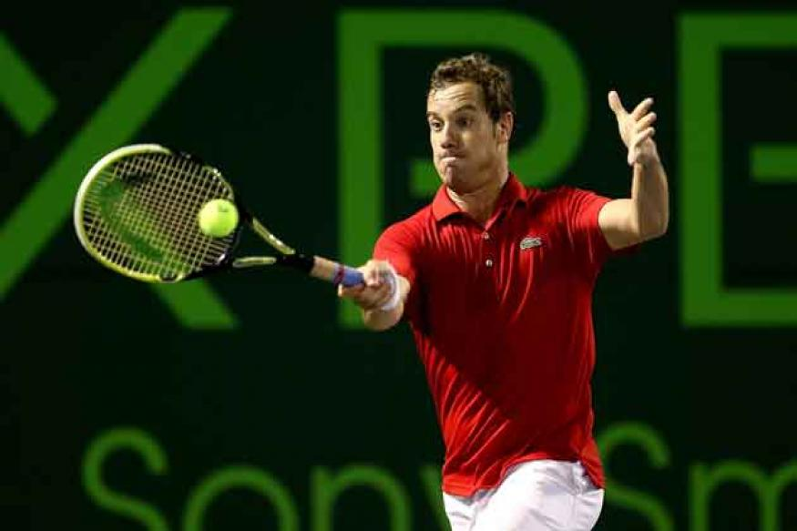 Richard Gasquet of France to miss Davis Cup with injury