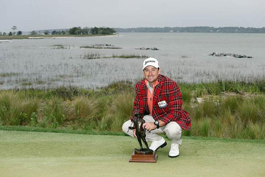 Graeme McDowell wins in playoff at gusty Harbour Town