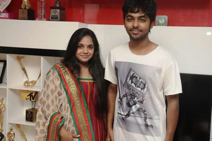 Telugu music composer GV Prakash to marry Saindhavi