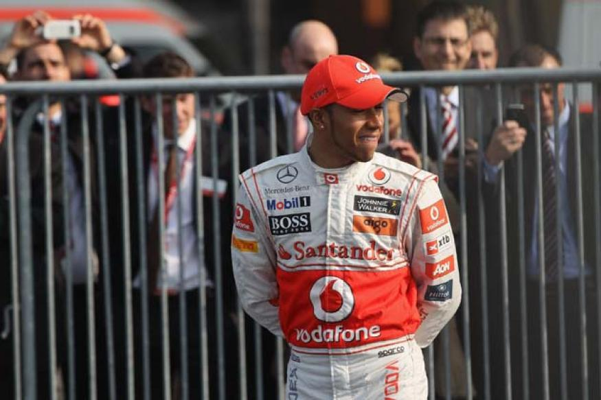 Lewis Hamilton handed five-place grid penalty