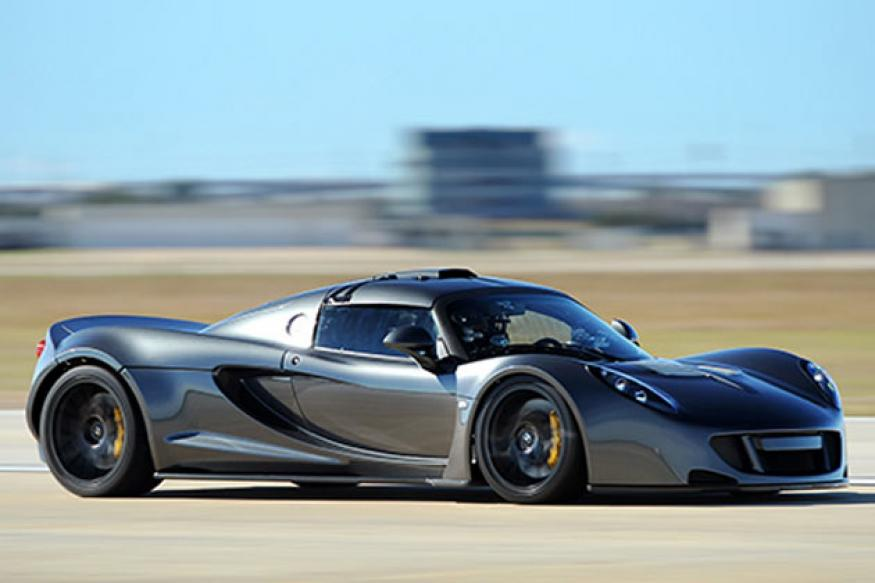 Watch: At 427.6 kmph Hennessey Venom GT is the world's fastest car
