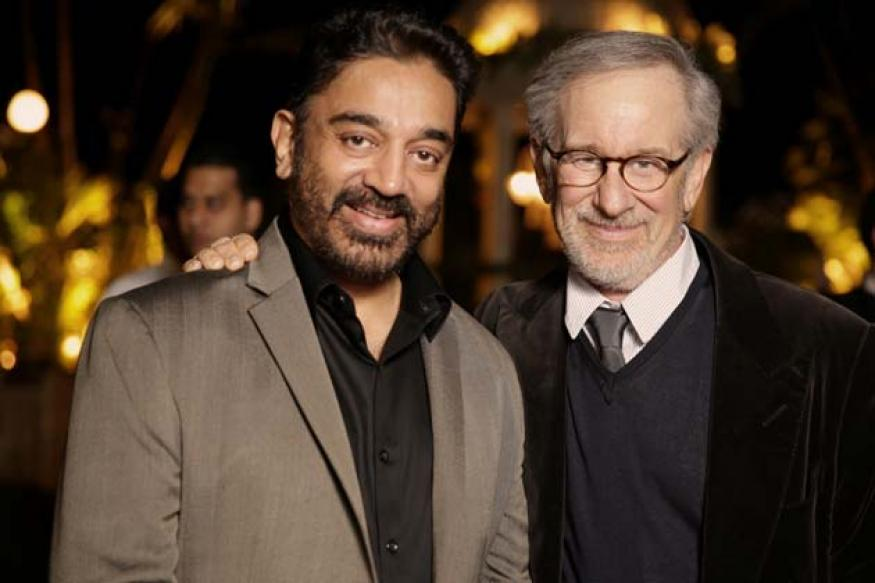 Snapshot: Kamal Haasan, Amitabh Bachchan, Steven Spielberg hang out together