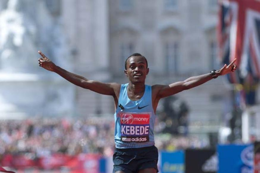 Tsegaye Kebede of Ethiopia wins London marathon