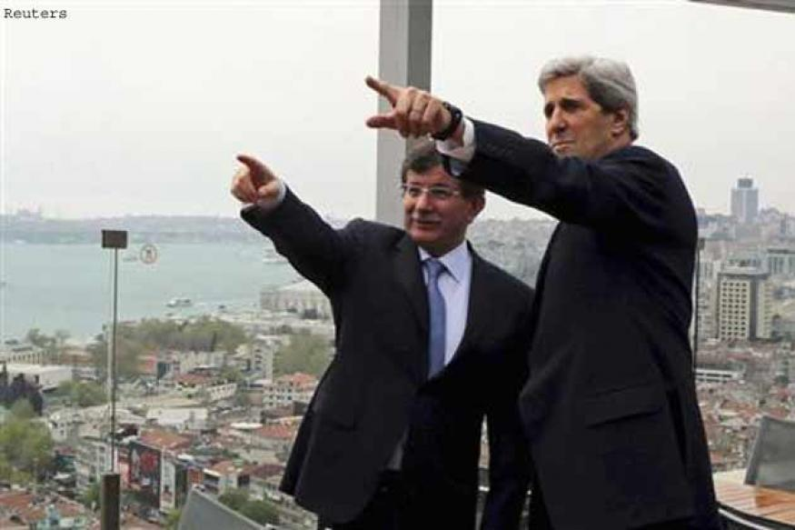 United States asked Turkey PM to delay Gaza trip: Kerry