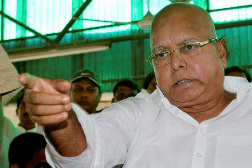 Snapshot: Did you notice Lalu Prasad has gone completely bald?
