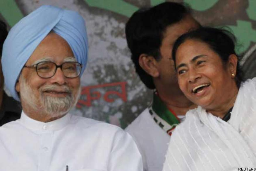 Mamata Banerjee to meet Manmohan, Montek today