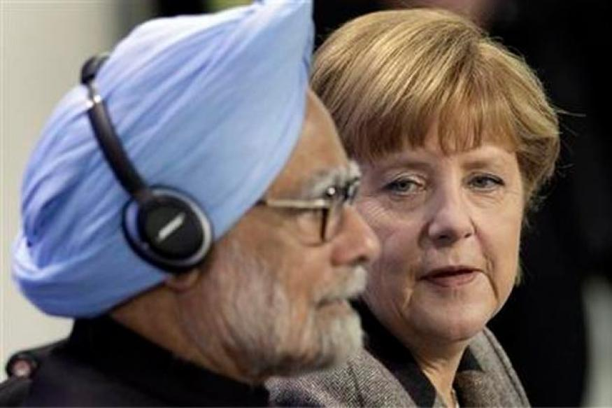 PM Mamohan Singh returns home after Germany visit