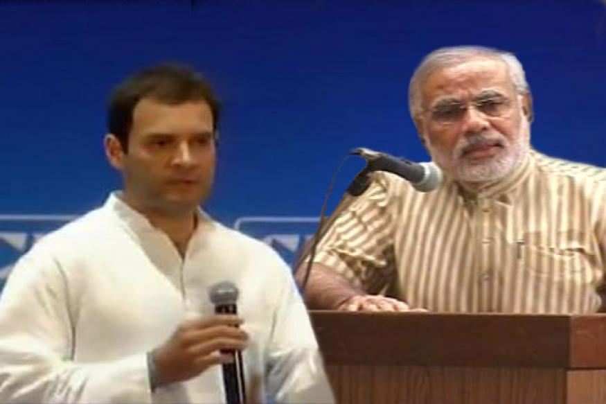 My becoming PM irrelevant, says Rahul even as Modi pitches for post
