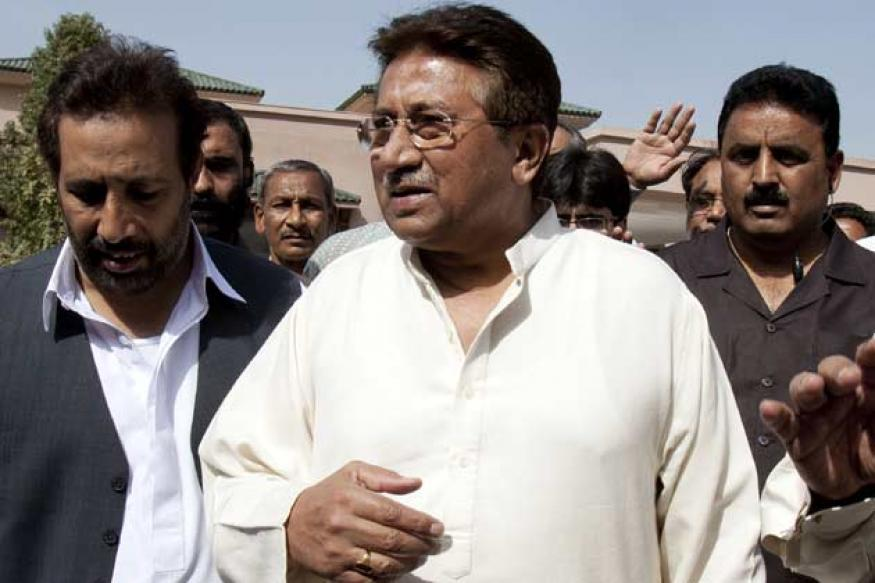 Pakistan: Pervez Musharraf under house