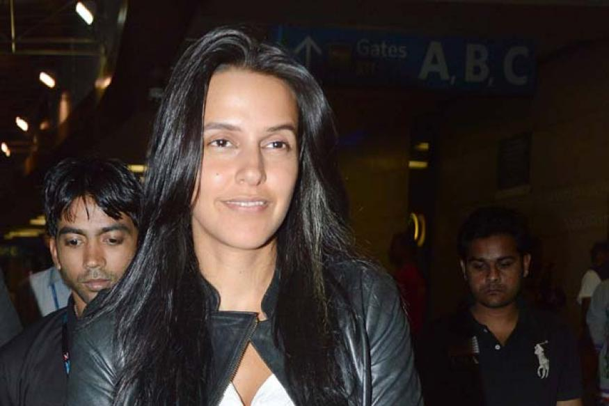 Snapshot: Neha Dhupia spotted without makeup