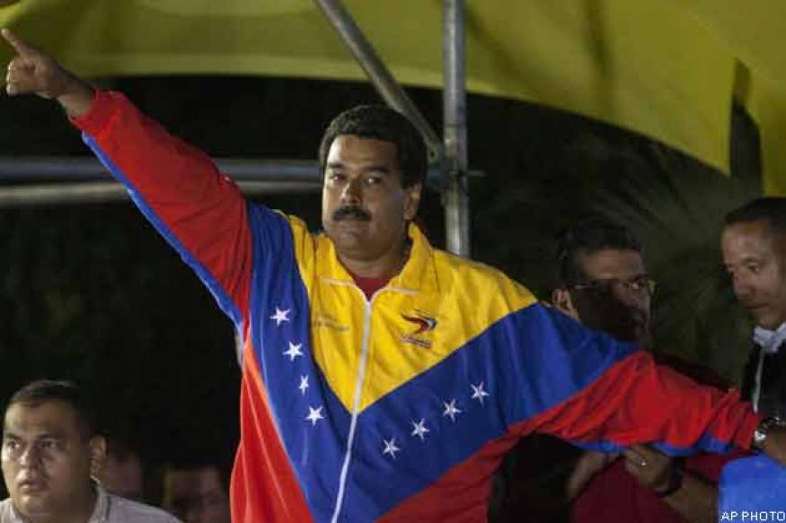 Chavez's heir Maduro to take over divided Venezuela