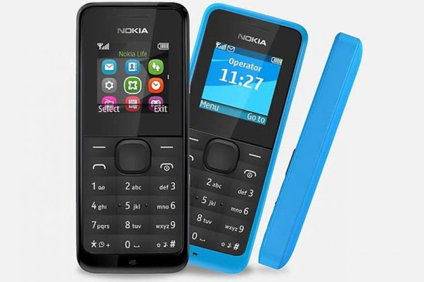 Nokia 105: Nokia launches cheapest entry level handset at Rs 1,249