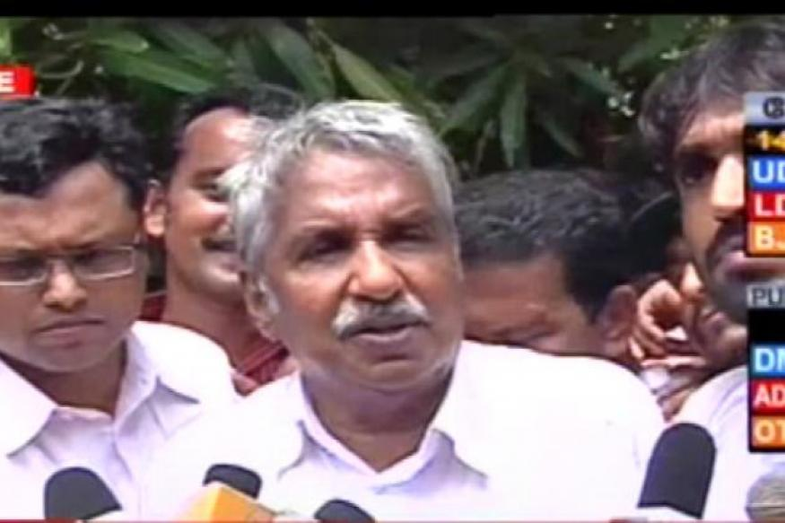 Chandy warns CPI-M against 'politicising' family issues