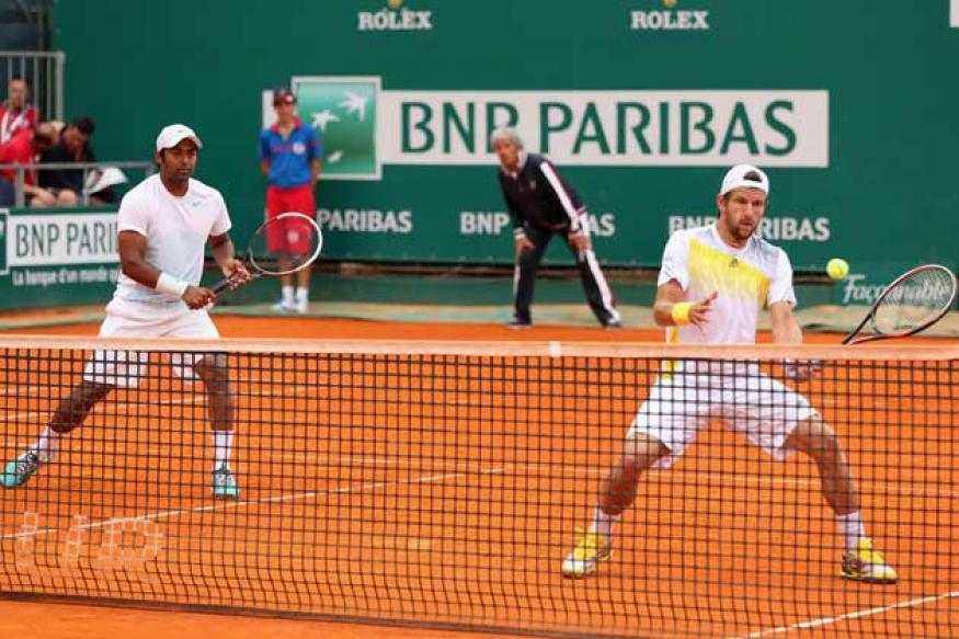 Leander Paes-Jurgen Melzer lose in quarters at Monte Carlo