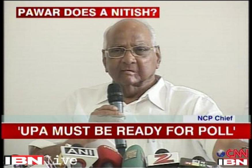 UPA's position vulnerable, should get ready for elections: Sharad Pawar