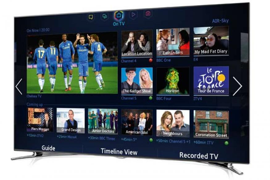 Samsung unveils new Smart TV, LED TV series models