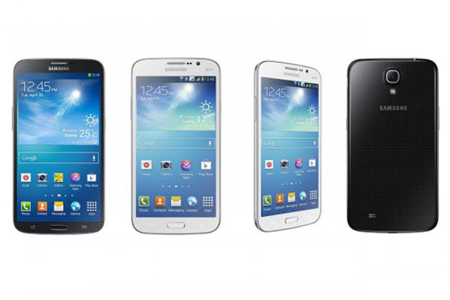 Samsung introduces new phablet range; launches Galaxy Mega 6.3, 5.8