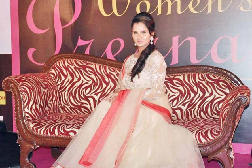 Snapshot: Sania Mirza looks stunning in an 'anarkali' dress