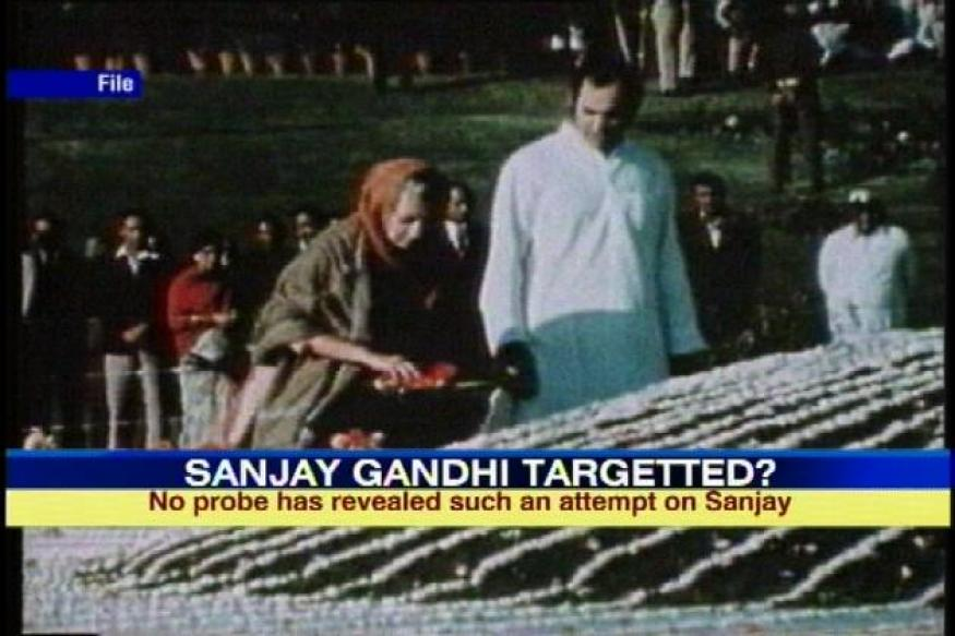 3 assassination bids were made on Sanjay Gandhi: WikiLeaks